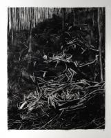 Monotype, 121.5 x 98 cm